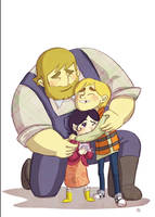 Song Of The Sea Group Hug by l-Ataraxia-l