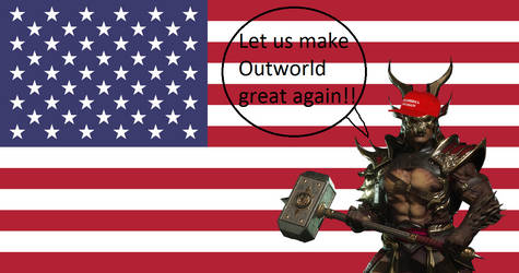 Make Outworld Great Again! (Mortal Kombat) by AudiomachineForLife