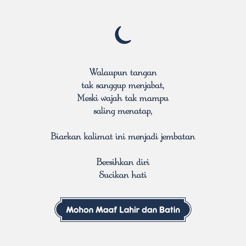 Mohon Maaf Lahir Dan Batin II By Arkhean On DeviantArt