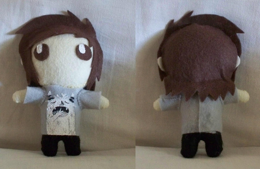 Oliver Sykes Tattoos Leg Oliver Sykes Plush Doll by