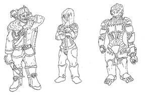 Ulren, Sacrii, Weyer early concept