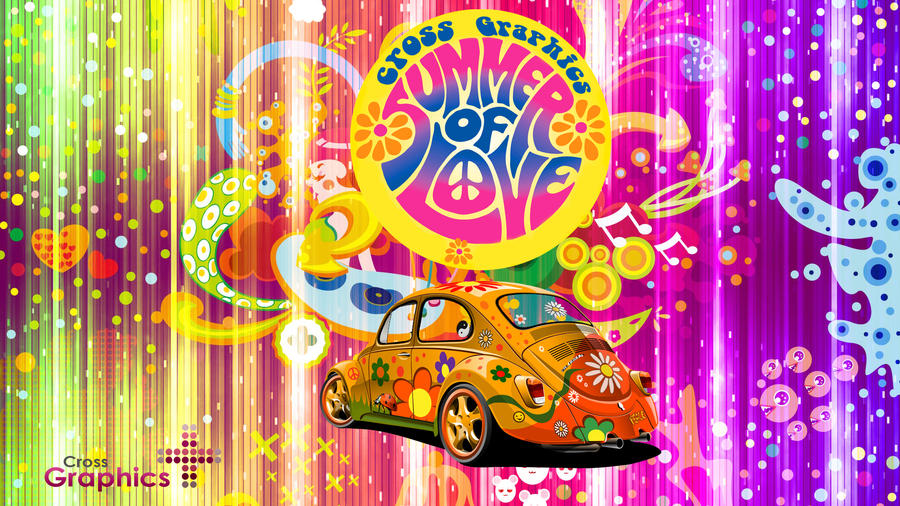 back to hippie car by cross graphics on deviantart. Black Bedroom Furniture Sets. Home Design Ideas