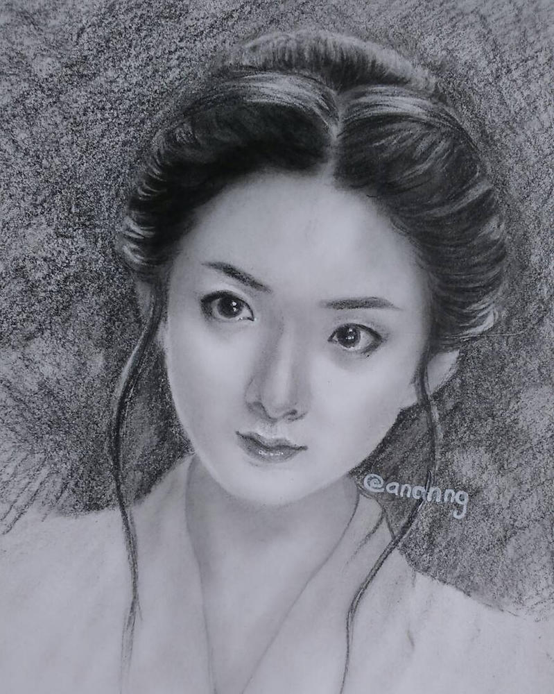 Zhao Li Ying by anannguyen0107 on DeviantArt