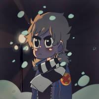 Scott Pilgrim VS. Winter by MistressBubblegum
