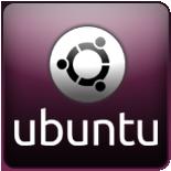 Ubuntu 150x150 white-black by Nieds