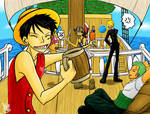 One Piece - Luffy says PARTY