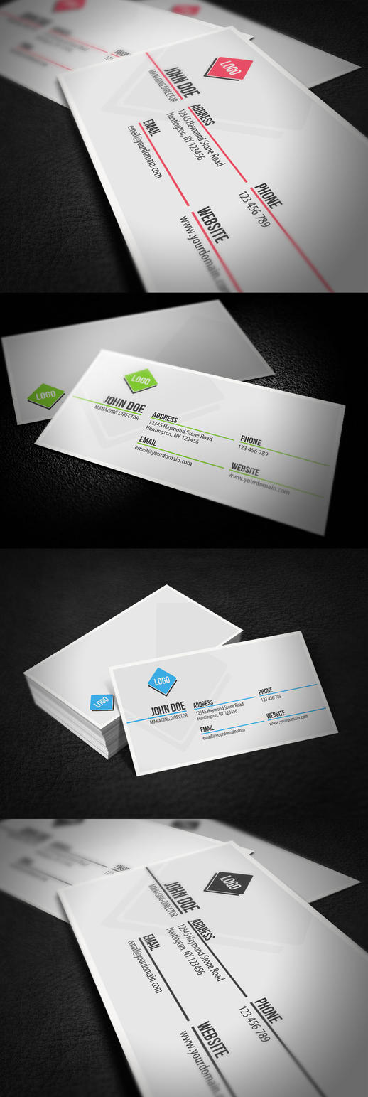Professional Business Card by glenngoh