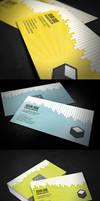 Drip Business Card + QR Code