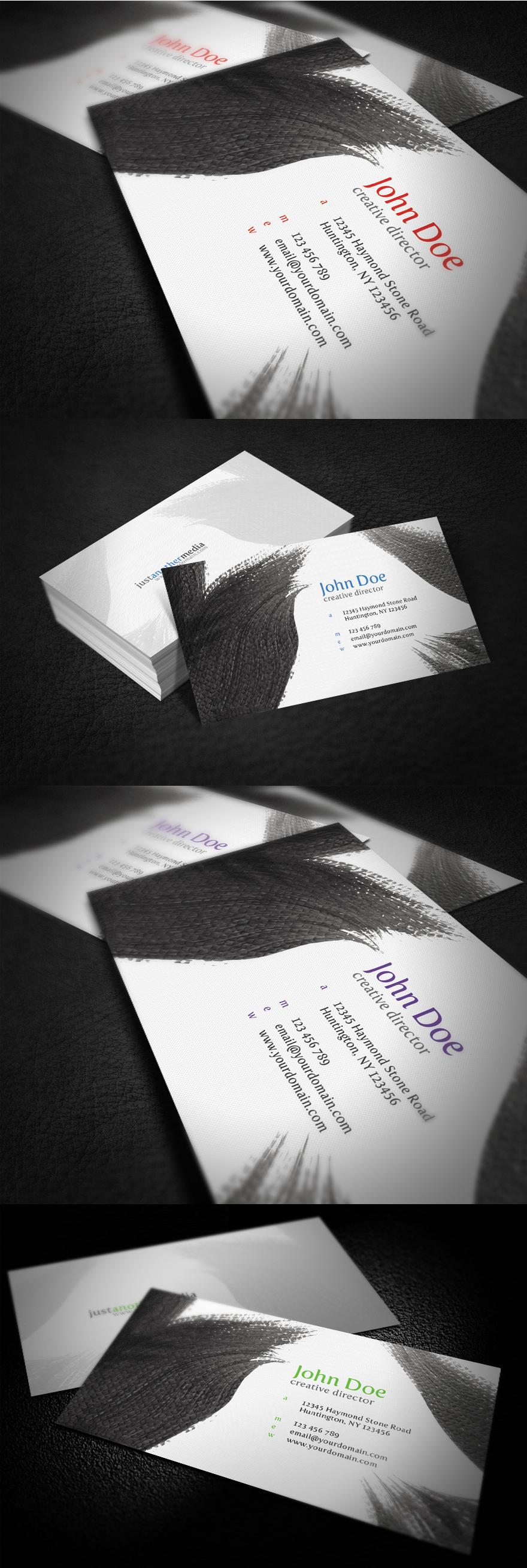 Creative Designer Business Card