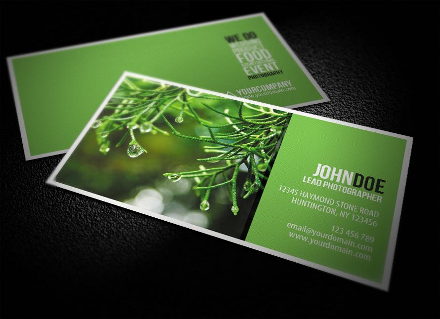 Photography Business Card by glenngoh