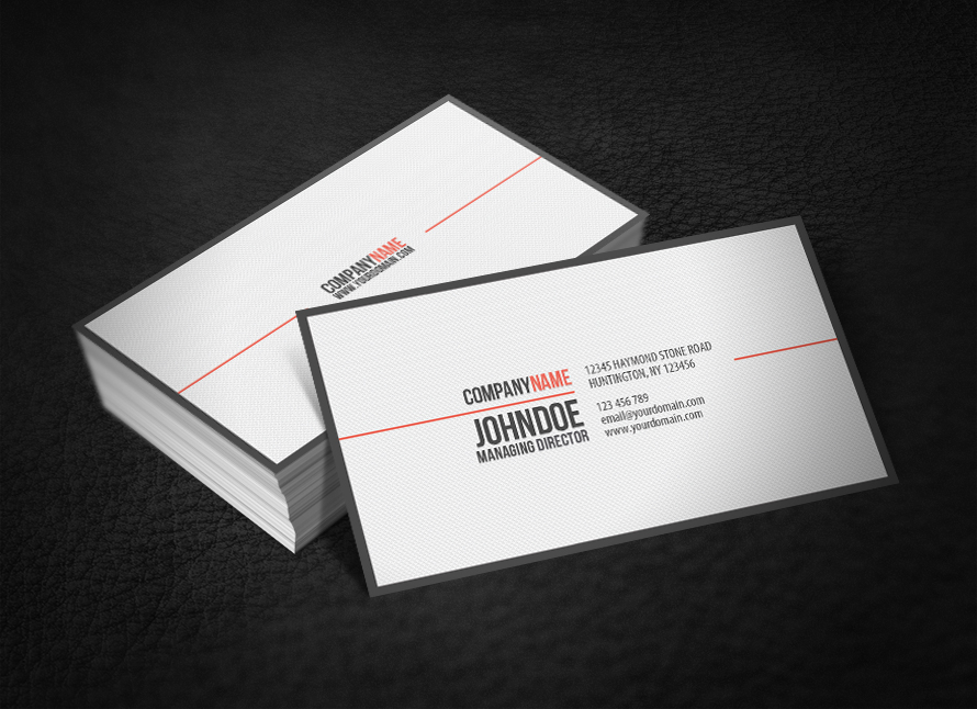 Simple Professional Business Card V2 by glenngoh on DeviantArt