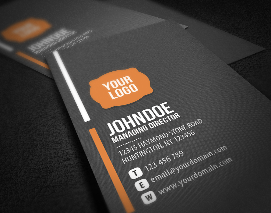 Neat corporate business card by glenngoh on deviantart neat corporate business card by glenngoh colourmoves