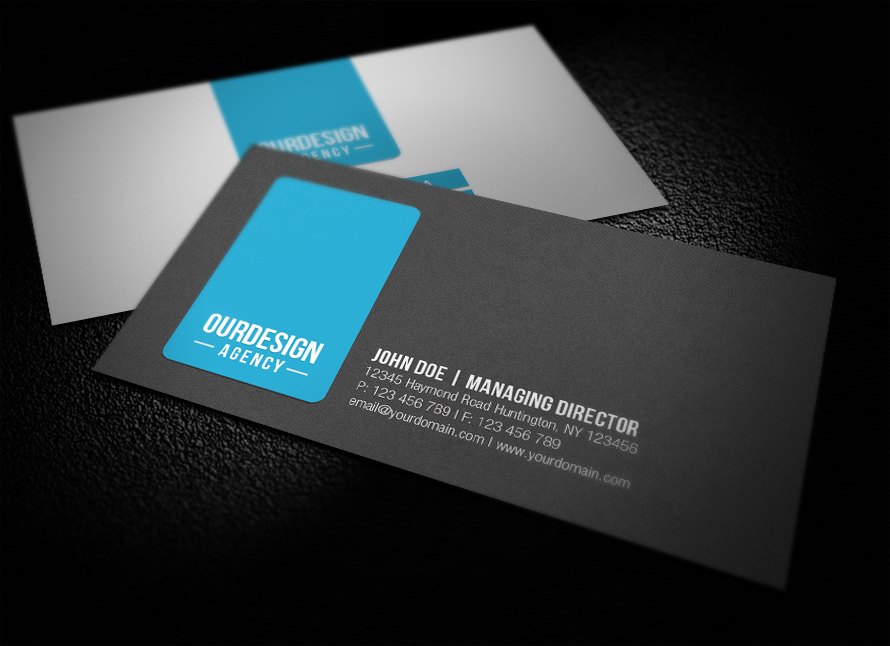 Clean Professional Business Card by glenngoh on DeviantArt