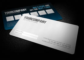 Sleek Professional Loyalty Card by glenngoh