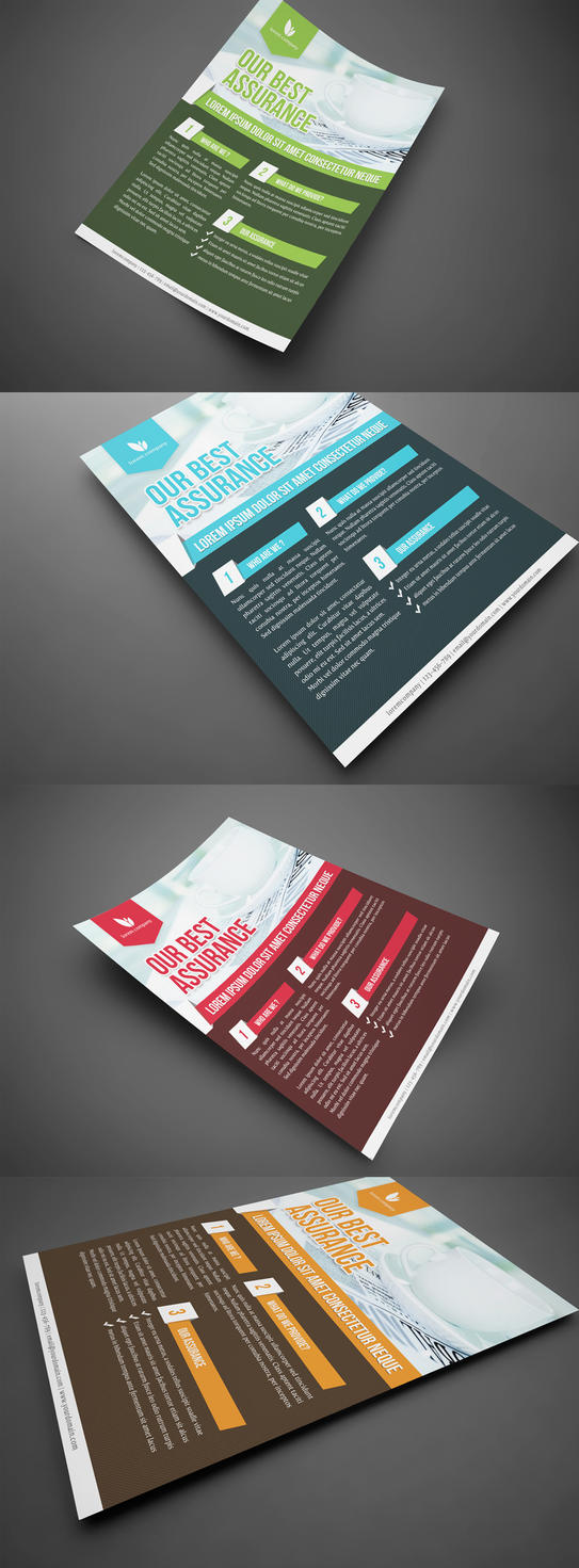 Professional Corporate Flyer by glenngoh