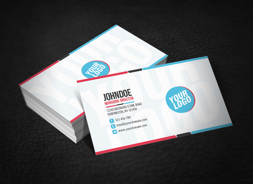 Clean Funky Business Card by glenngoh on DeviantArt
