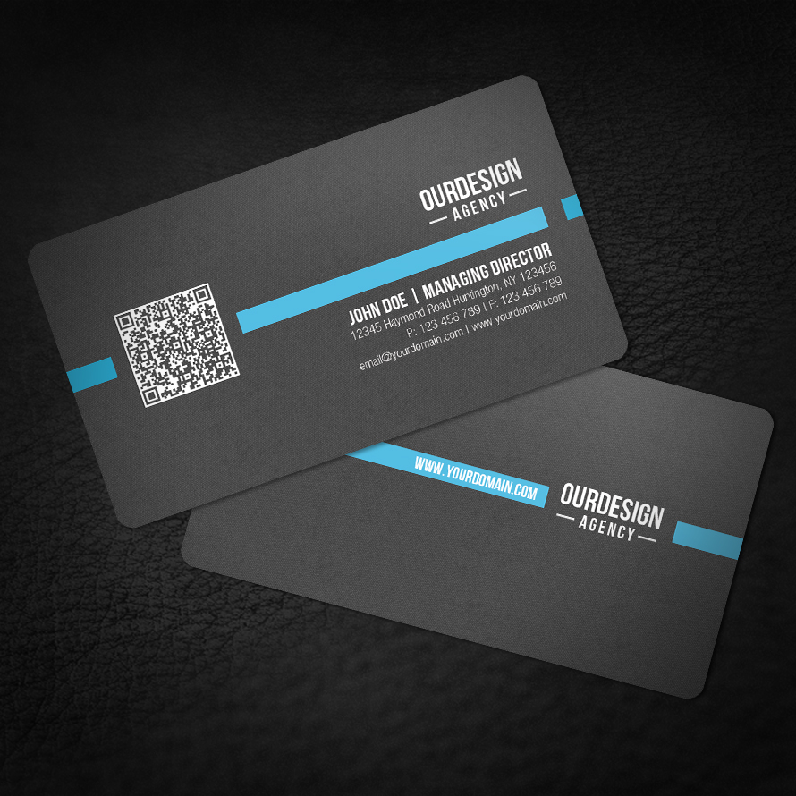 Images of qr code business card spacehero rounded corner qr code business card by glenngoh on deviantart wajeb Images