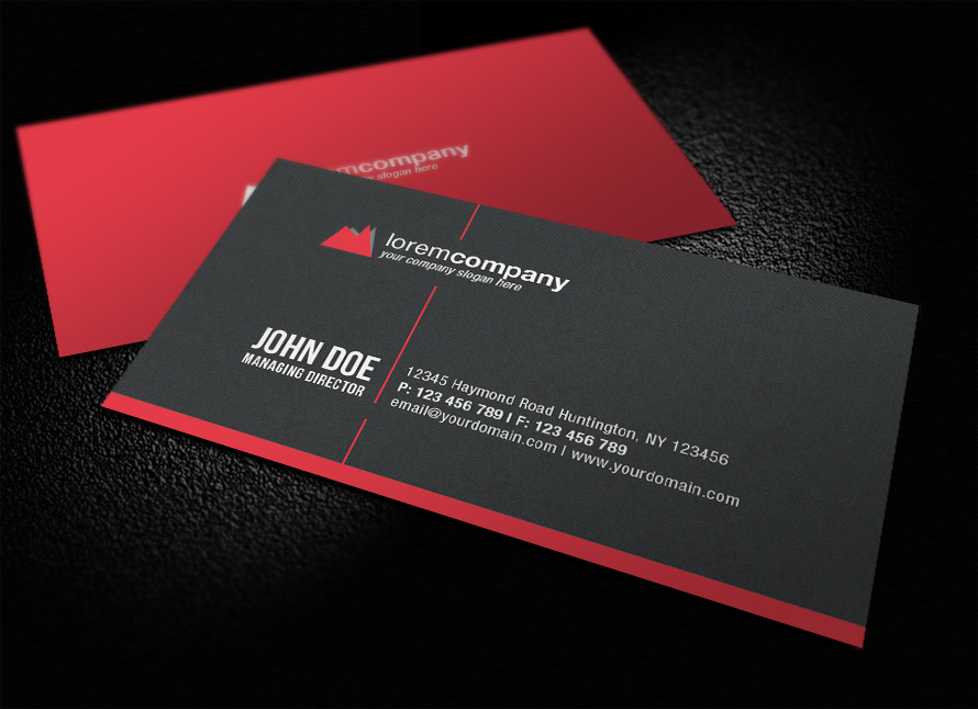 Professional corporate business card by glenngoh on deviantart professional corporate business card by glenngoh reheart Images