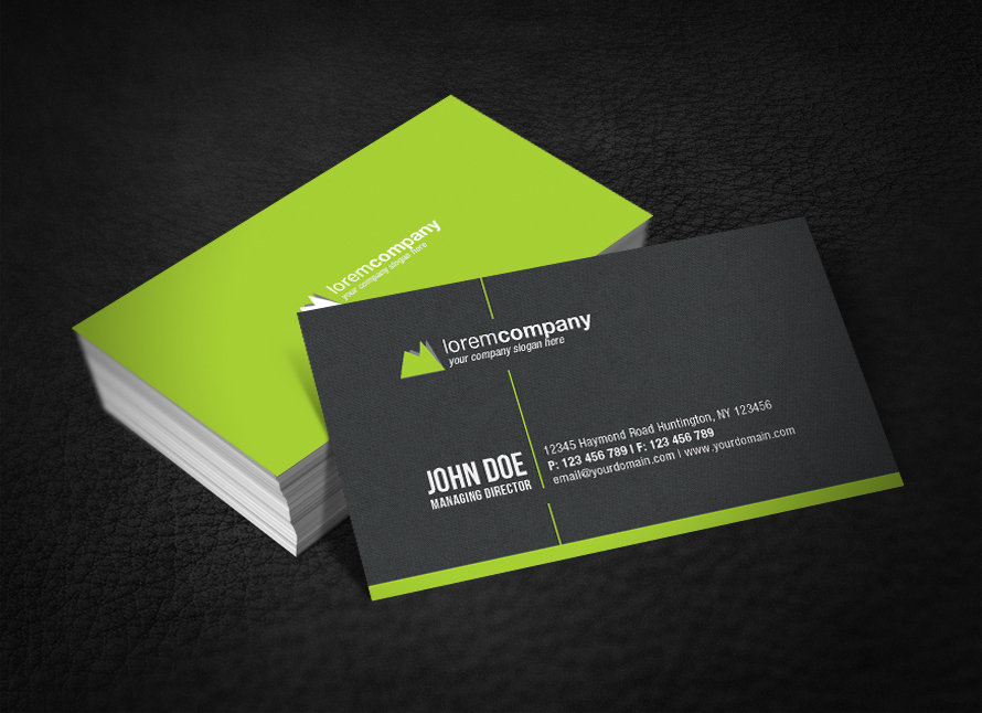 Professional Corporate Business Card by glenngoh