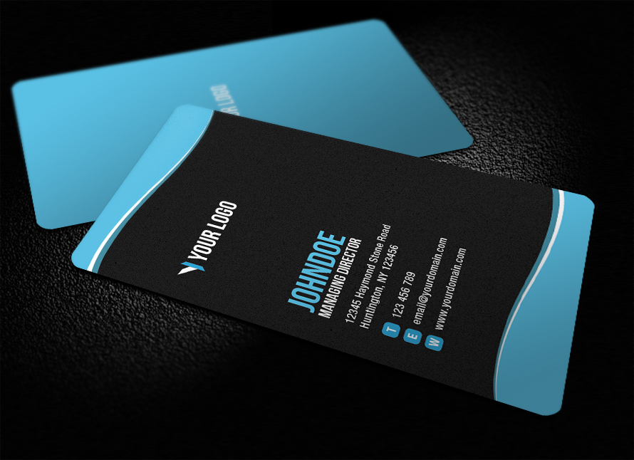 Sleek Rounded Corner Business Card V2 by glenngoh on DeviantArt
