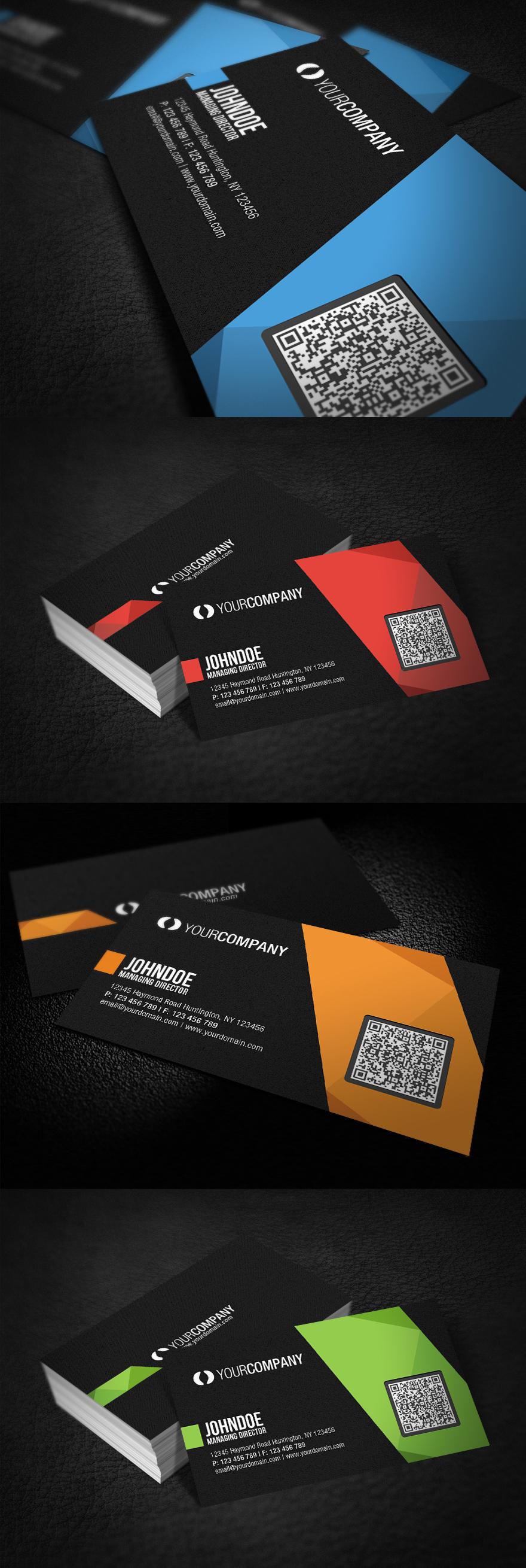 Professional QR Code Business Card