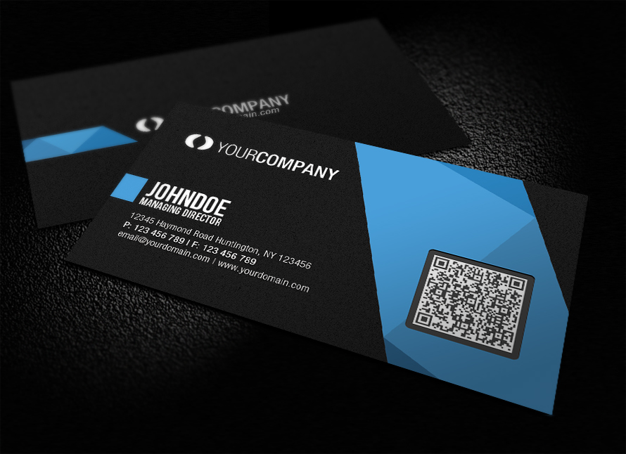 Professional QR Code Business Card by glenngoh on DeviantArt