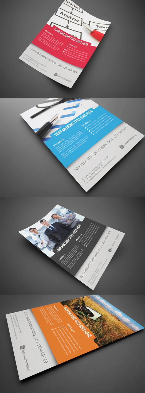 Business Corporate Flyer V3 by glenngoh