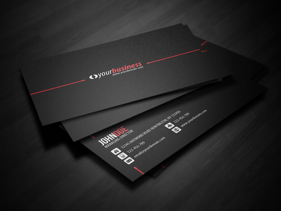 Line Corporate Business Card by glenngoh on DeviantArt