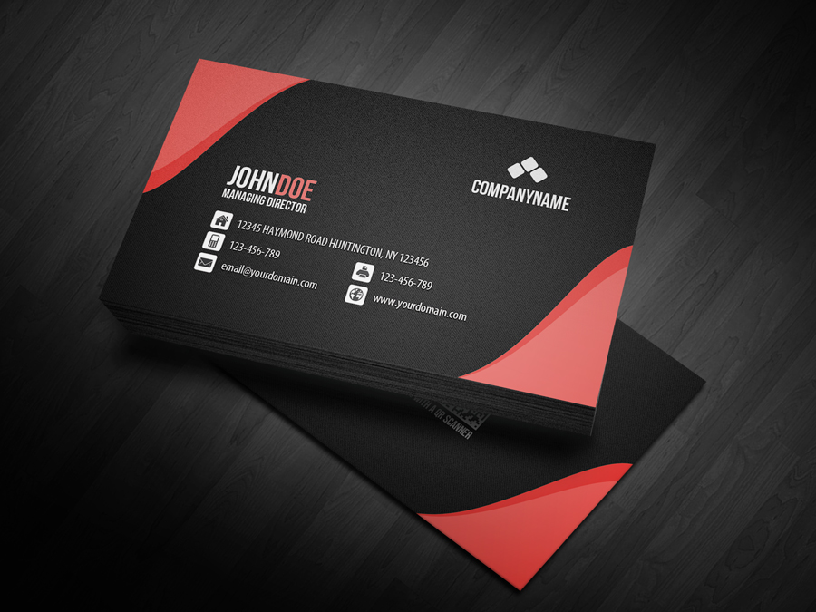New QR Code Business Card by glenngoh on DeviantArt