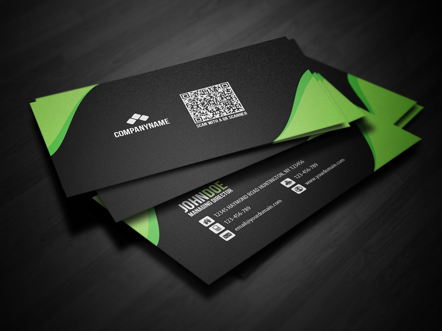 New QR Code Business Card by glenngoh on DeviantArt