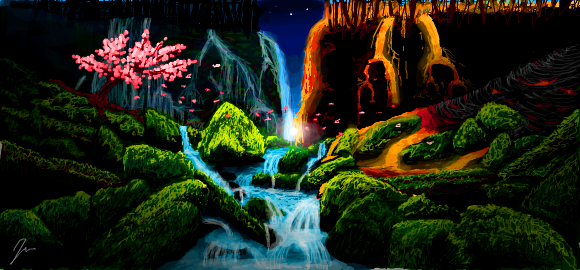 Earth Air Fire Water By Ember Reed On Deviantart