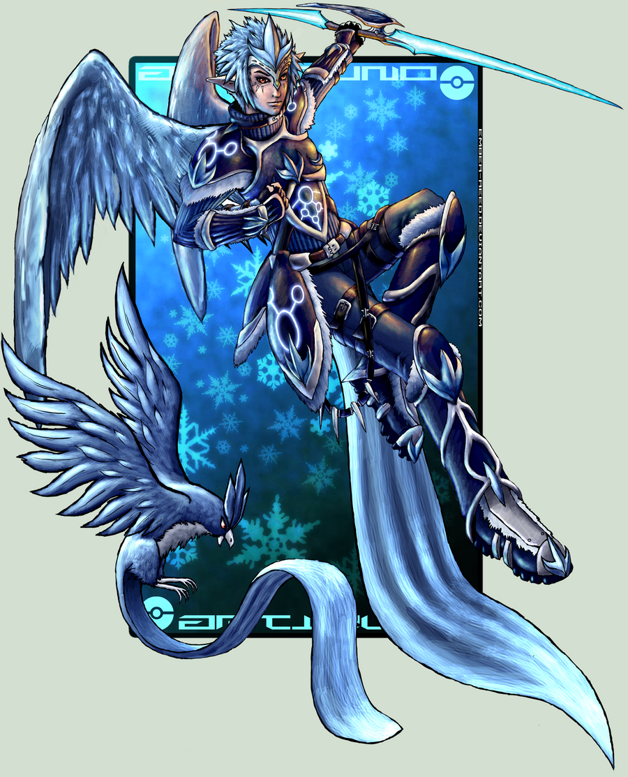 Articuno by ember-reed on DeviantArt