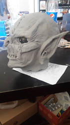 Goblin Mask WIP