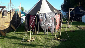 orc tent for larp orcs