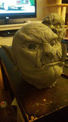 my new Orc mask