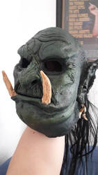 new Worgahr Mask (Orc mask)