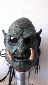 Worgahr Orc Mask (better light)