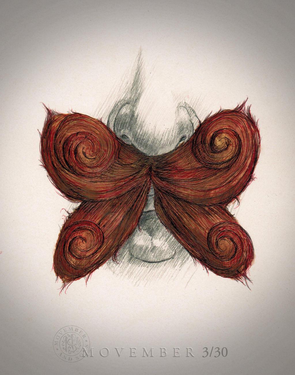 Movember Butterfly 3/30 by PeterFarmer