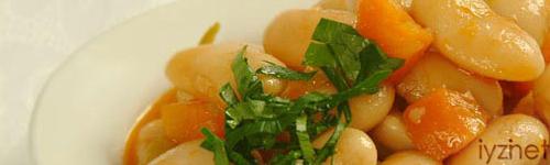 Zeytinyağlı kuru fasulye