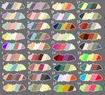 F2U Color Palette + Commission Sale