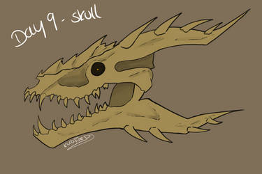 Day 9 Skull