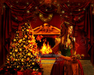 My silent night by Cartercho