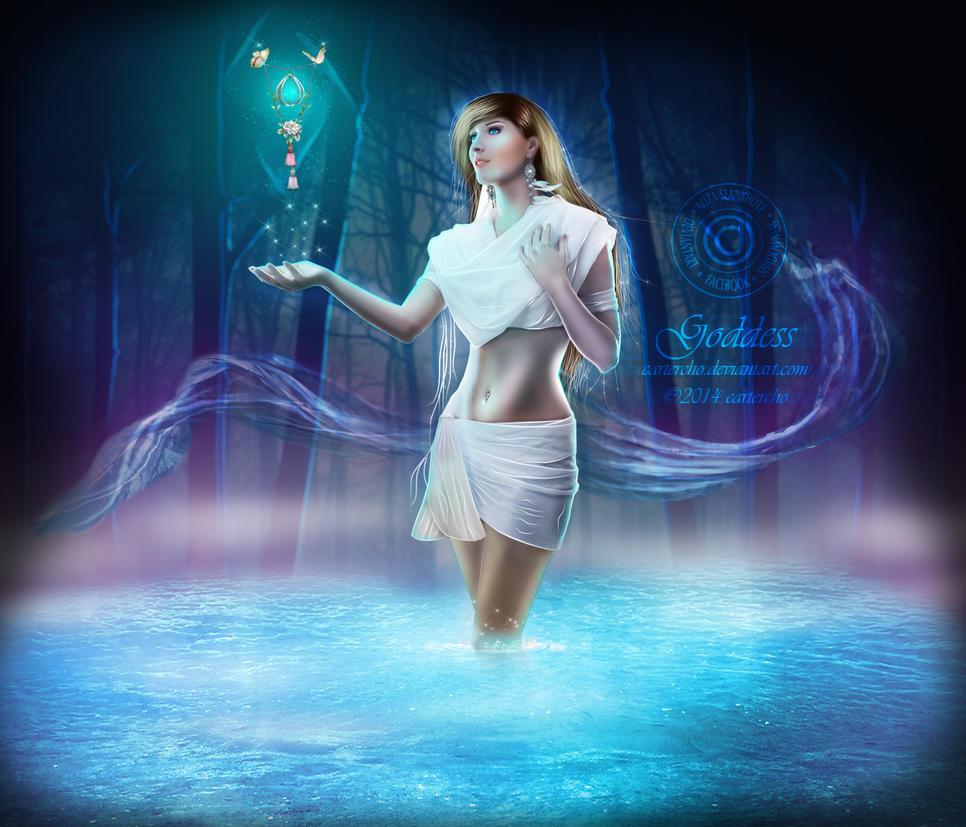 Goddess by Cartercho