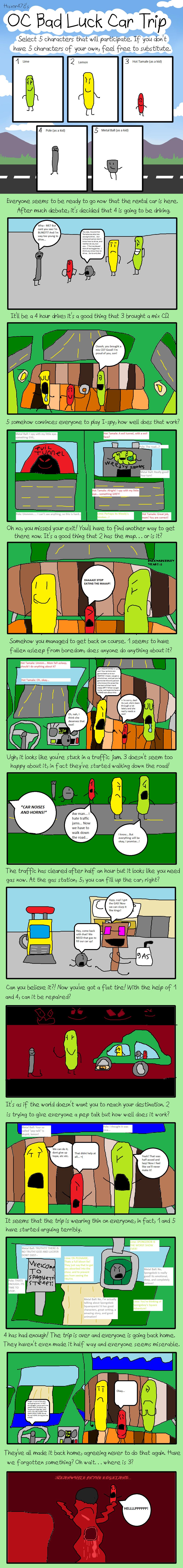 Bad Luck Car Trip Meme! by Kobe56299 on DeviantArt