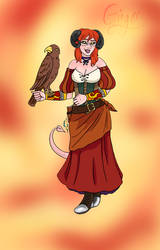 DND Commission: Ginger by KiwiTeaArtistry