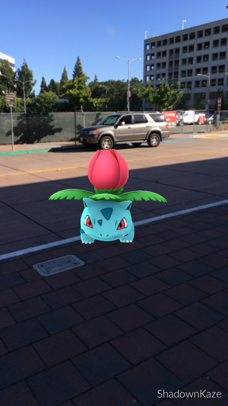 Pokemon Go Ivysaur by Co-lord44
