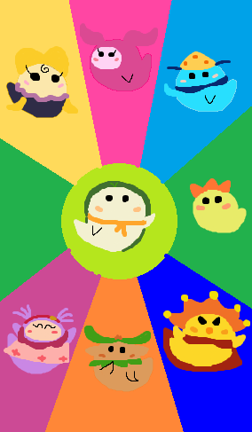 Cutie Drops: Noonbory And The Super 7 by great-crossover