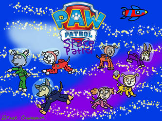 Paw Patrol: Space Patrol by great-crossover