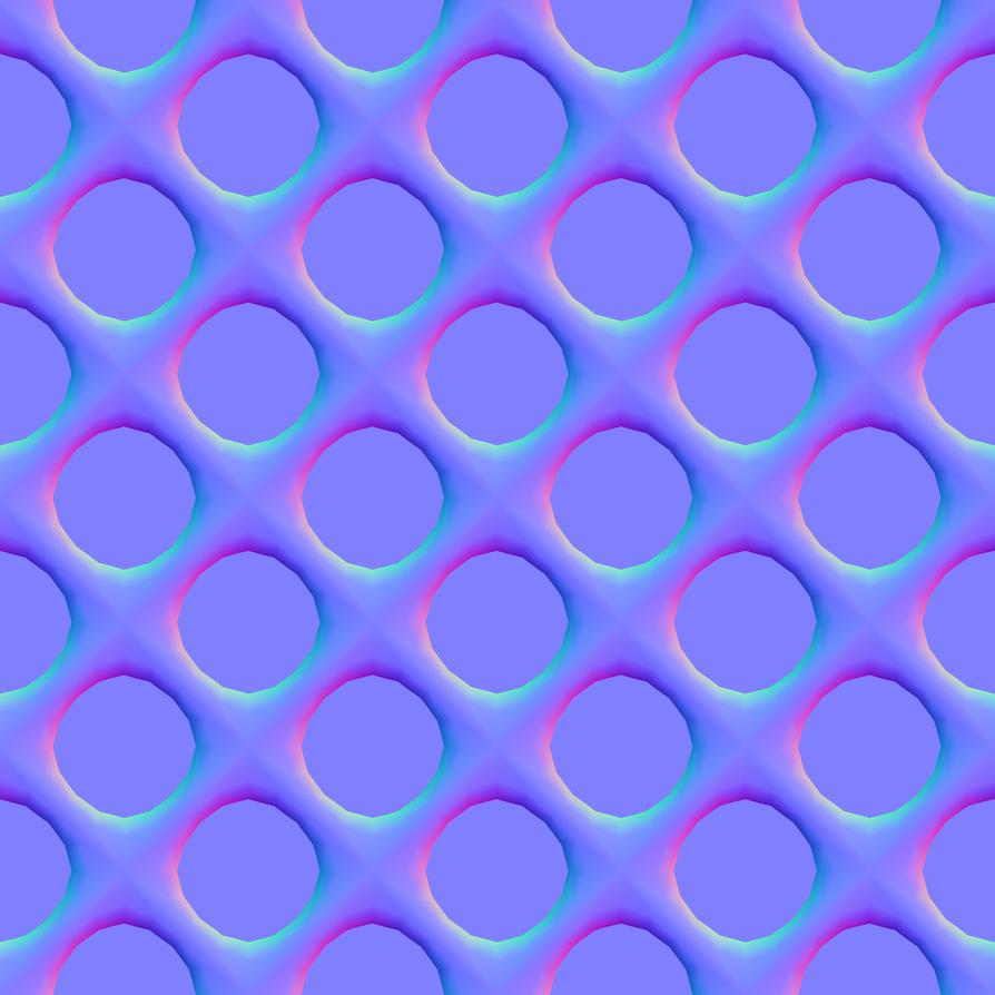 Circle Grid normal map by StanPancakes on DeviantArt