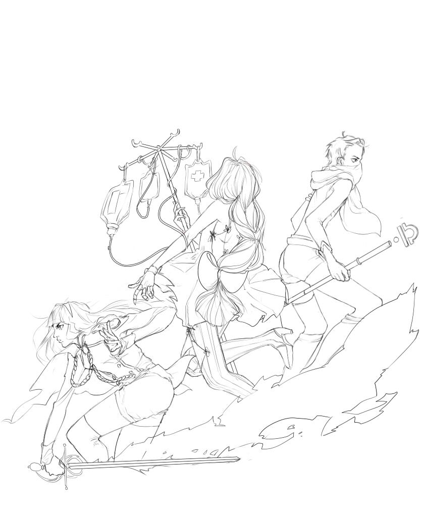 Zodiac Line Art : Batman ocs by grimesgen on deviantart